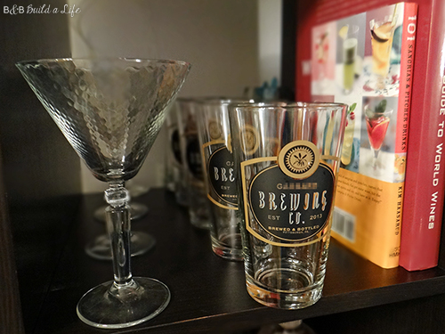 awesome customized pint glasses for christmas at BandBBuildALife.com