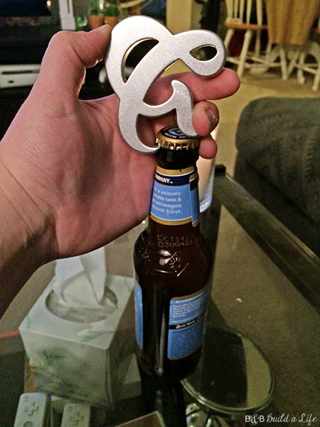 ampersand bottle opener AND bottle opener from Fred on BandBBuildALife.com
