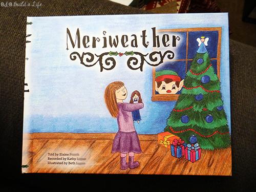 Meriweather The Elf The Original Elf on the Shelf childrens book at BandBBuildALife.com