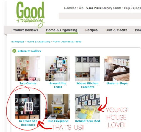 BandBBuildALife.com featured on Good Housekeeping!