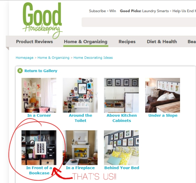 BandBBuildALife.com featured on Good Housekeeping!