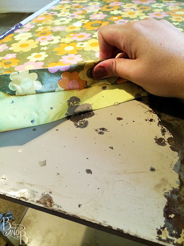 peeling contact paper for printer stand for Desk