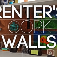 Renter's Wall Update with Cork
