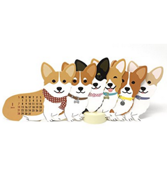 2017-12-05 20_46_48-Amazon.com _ Welsh Corgi Dog 2018 Die-cut Desktop Calendar _ Office Products