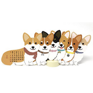 2017-12-05 20_46_48-Amazon.com _ Welsh Corgi Dog 2018 Die-cut Desktop Calendar _ Office Products